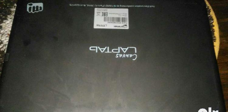 Micromax canvas laptab 777 with warranty till