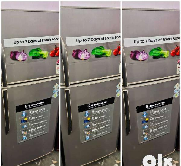 With 5 year warranty samsung double door refrigerator 250
