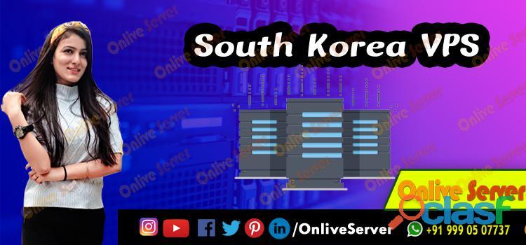 Get Managed South Korea VPS Hosting with Onlive Server