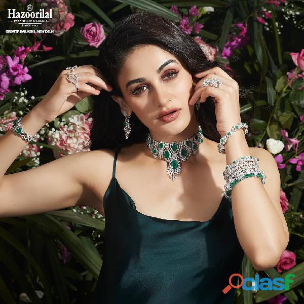 One of the most reputed diamond jewellery shop in Delhi