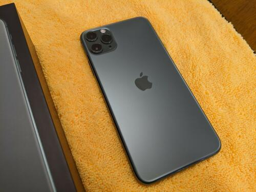 Apple iphone 11 pro max 256gb space gray verizon exl
