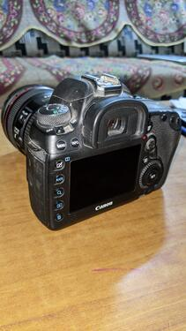 Canon 5d mark iv with 2470mm lens
