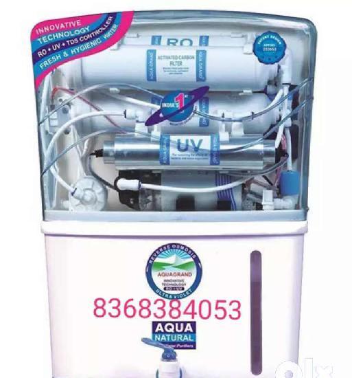 Company sealed aquafresh ro+uv+uf tds and water purifier at