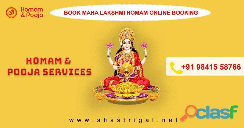 Book Homam Pooja Services Online   Shastrigal