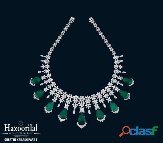 Hazoorilal is one of the best mehandi jewellers around