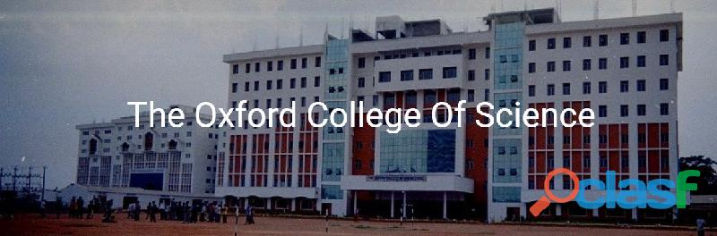 The Oxford Degree College Ranking