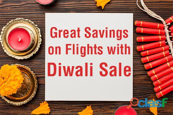 Enjoy Great Savings on Flights with Diwali Sale