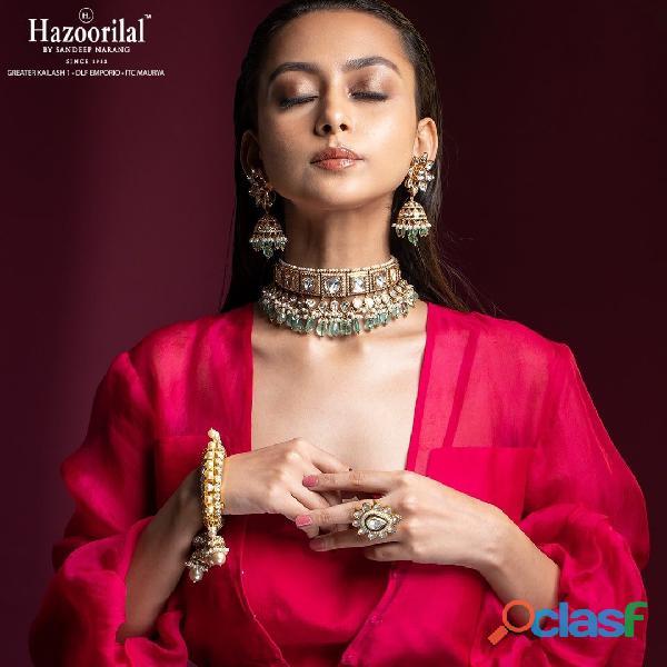 Hazoorilal designer jewellers in Delhi