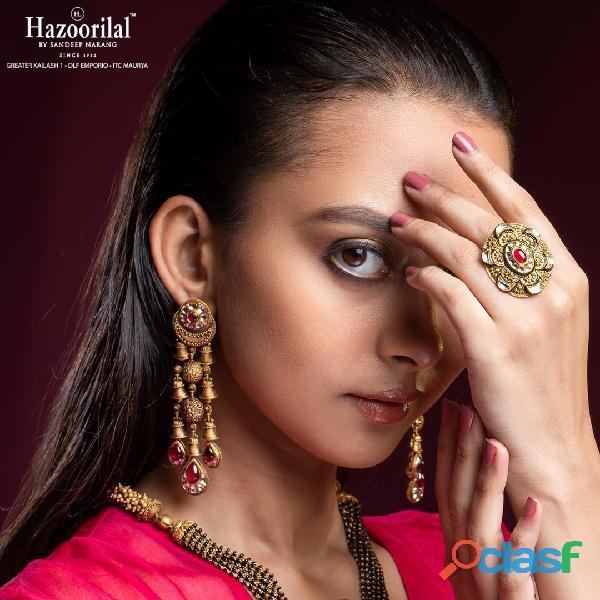 Hazoorilal designer jewellery in delhi