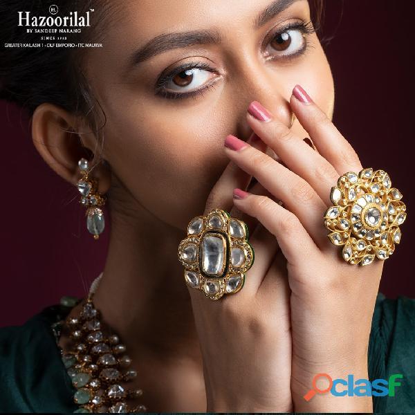Hazoorilal designer jewellery in india