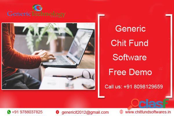 Generic chit fund software free demo