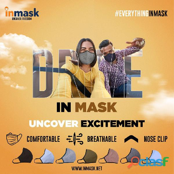 Great option to buy washable cloth masks