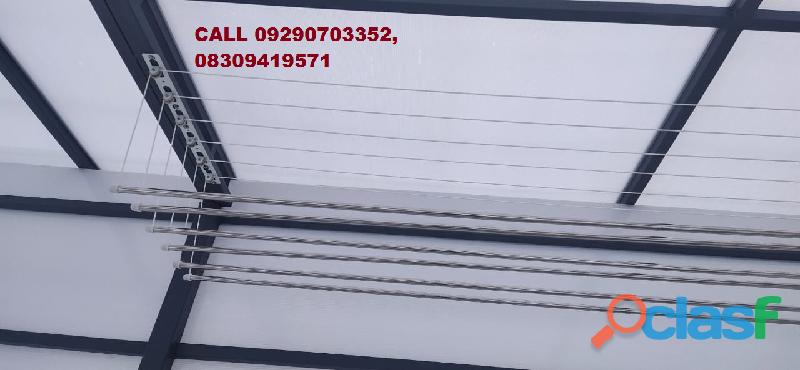 Call 09290703352 for roof hanger dealer near vessella woods villas, kondapur, hyderabad