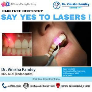 Teeth cleaning in kanpur | dr. vinisha pandey - beauty