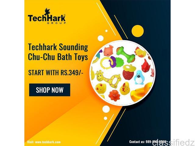 Techhark sounding chu-chu bath toys ahmedabad