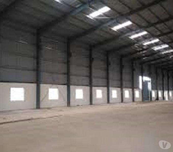 30,000 sq.ft. Godown Space Factory Shed, available for Rent