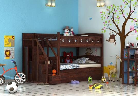 Buy compact beds for small rooms online wooden street