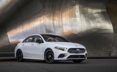 Book a brand-new mercedes a-class limousine at t&t motors