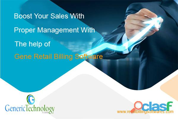 Boost Your Sales With Gene Retail Billing Software