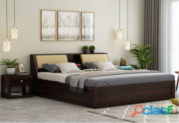 Box beds : buy box beds online upto 40% off   woodenstreet
