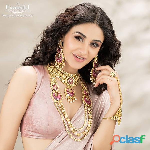 Hazoorilal has got the best diamond jewellery for you in India
