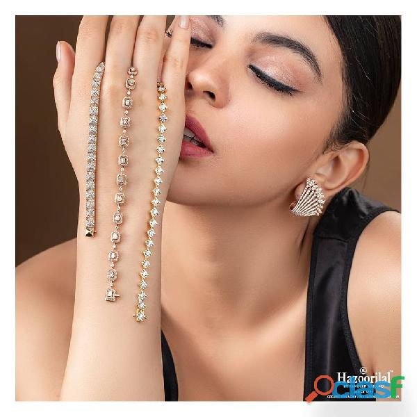 Hazoorilal has got the most beautiful diamond jewellery in Delhi for you