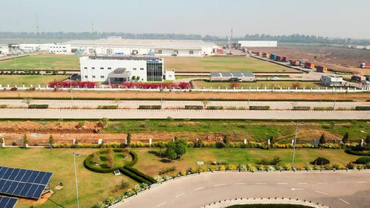 Industrial plot for sale in bawana delhi