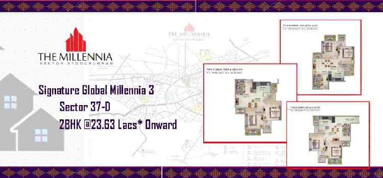 Signature global millennia 3 in sector 37d gurgaon