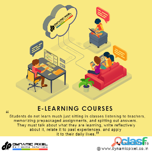E learning courses are best teaching technology