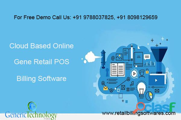 Cloud Based Gene Retail POS Billing Software
