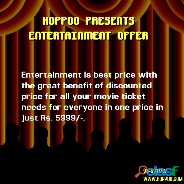 . Best entertainment combo package for Movie Lovers.
