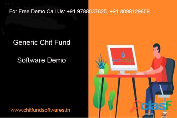 Generic Chit Fund Software Free Demo Download