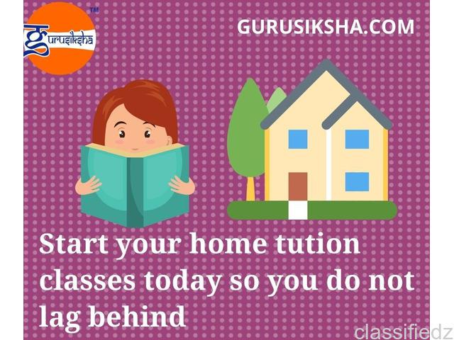 Home tuition classes from gurusiksha's verified tutors