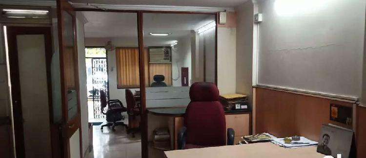 Fully furnished office on ground floor at prime location in
