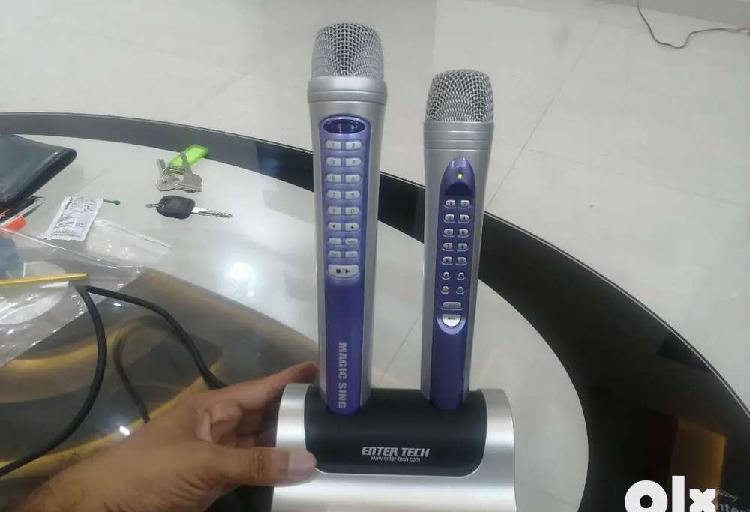 Magic Sing wireless Karaoke mic, karoke Mike koroke