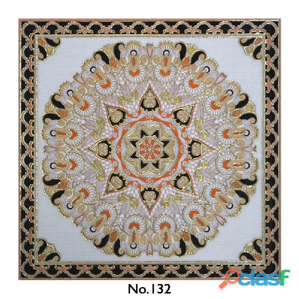 Ceramic Rangoli Carpet Tile   Vitrified Rangoli Tiles Manufacturer in India