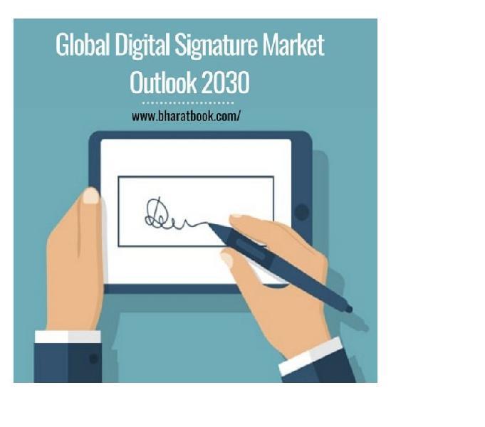 Global digital signature market outlook 2030