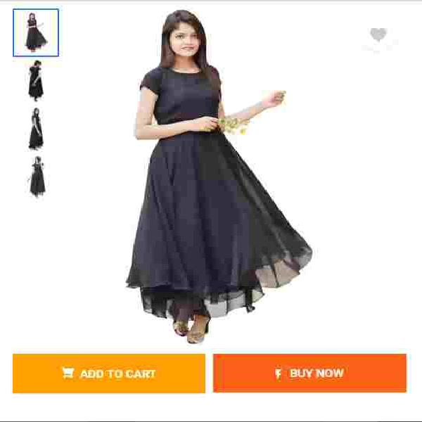 Sale maxi black dress online for women at flipkart