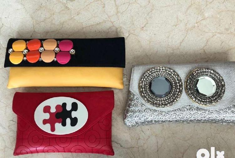 Ladies fashion hand bags and clutch bags