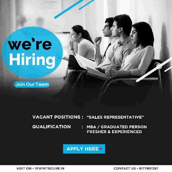 Field sales representative for tecure technology pvt ltd