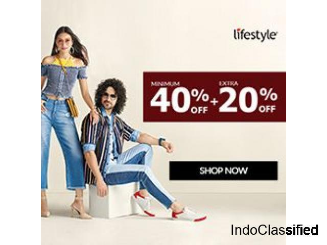 Lifestyle-shop online with exciting offers