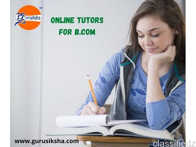 Online tuition for b.com kolkata