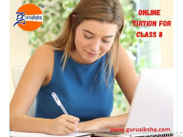 Online tuition for class 8 kolkata