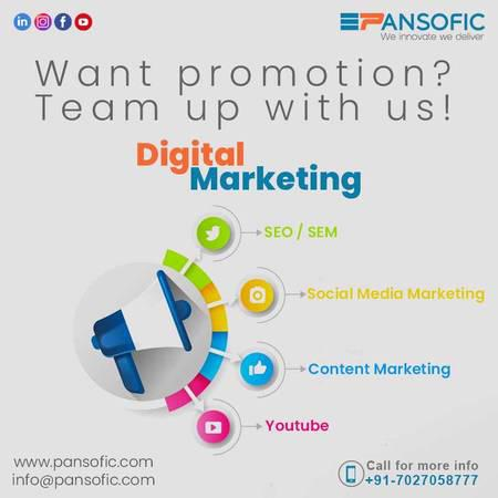 Digital marketing company - creative services