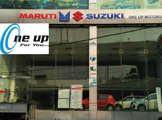 One up motors - prominent maruti showroom lucknow