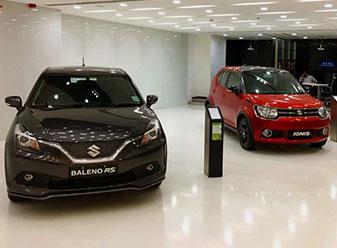 Visit modern automobiles nexa maruti dealer in panchkula