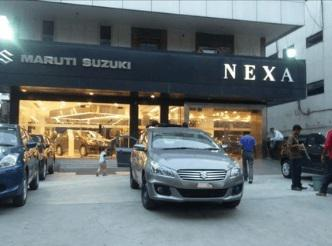 Attractive cars at rana motors nexa new delhi car showroom