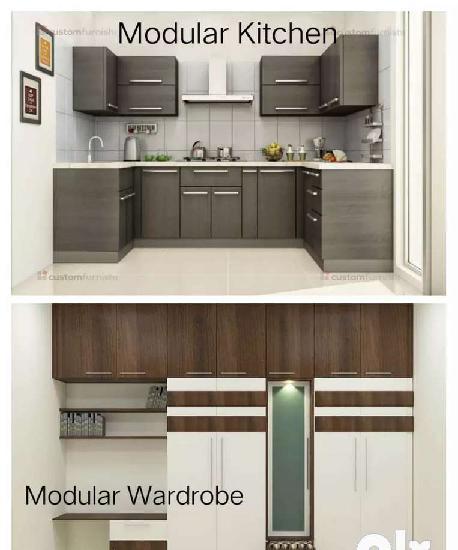 Modular kitchen / modular wardrobe