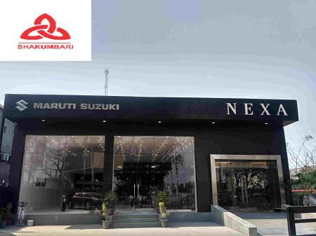 Reach shakumbari auto wheels maruti nexa car dealers