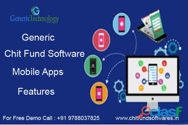 Generic chit funds software mobile apps features